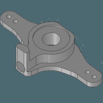 Lenkhebel für Federstahldraht Federbeine von 2-8mm