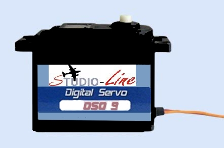 Studio Line<br> DIGITAL Highspeed MIDI SERVO DS009<br> Zugkraft 2,2 kg